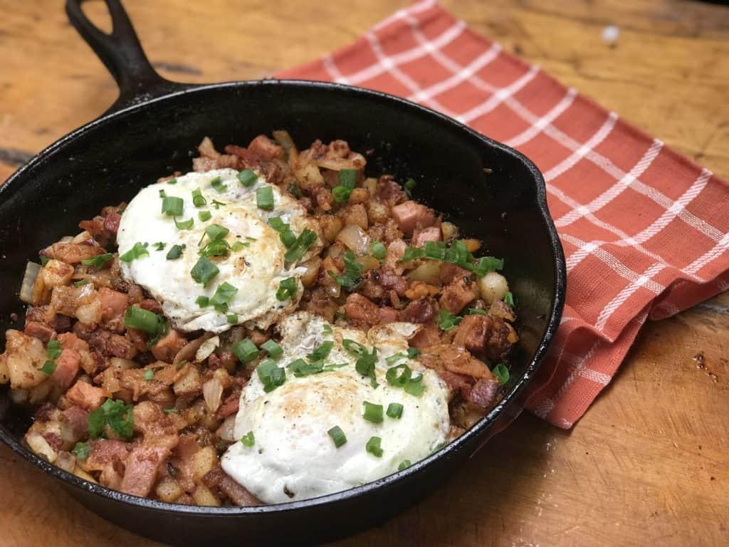 Three Meat Cowboy Breakfast Hash Kent Rollins