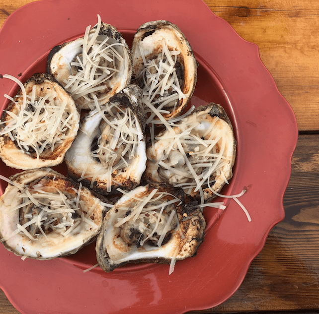 Grilled Oysters on the Half Shell - Cowboy Kent Rollins