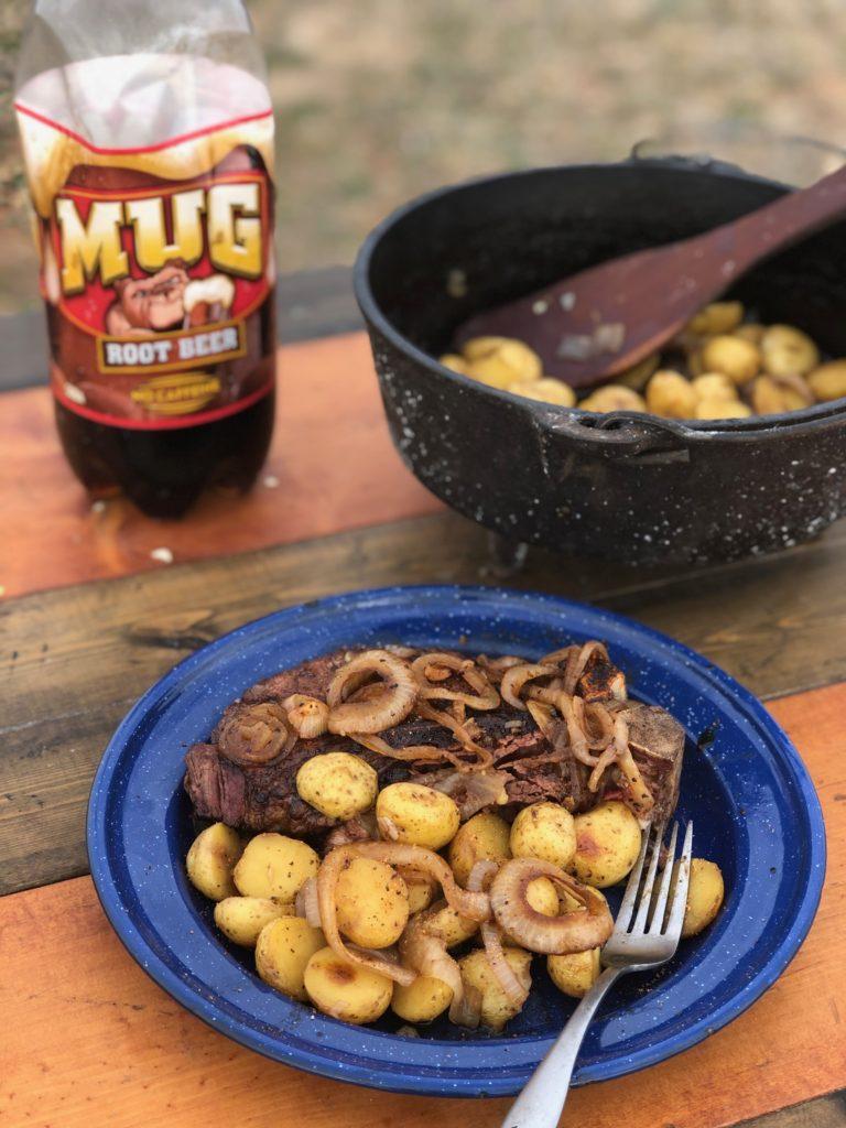 Root Beer Potatoes