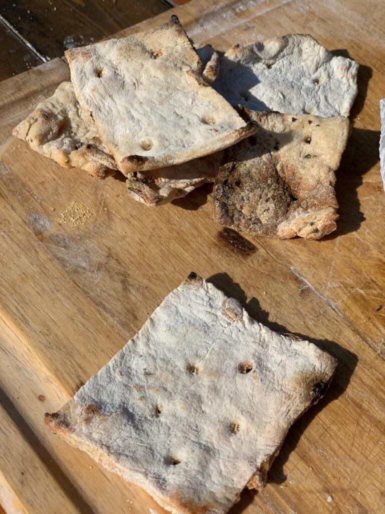Survival Bread - Hard Tack and Hot Water Cornbread | Kent Rollins