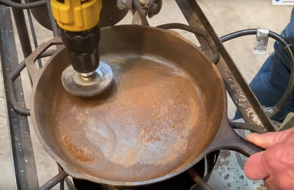 How To Restore Cast Iron Kent Rollins