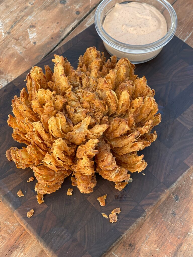 Blooming Onion Kent Rollins