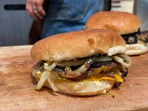 Oklahoma Fried Onion Burger Kent Rollins