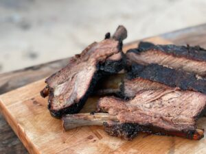 Kent Rollins Smoked Ribs