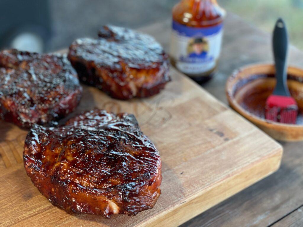 Kent Rollins Best Grilled Pork Chop