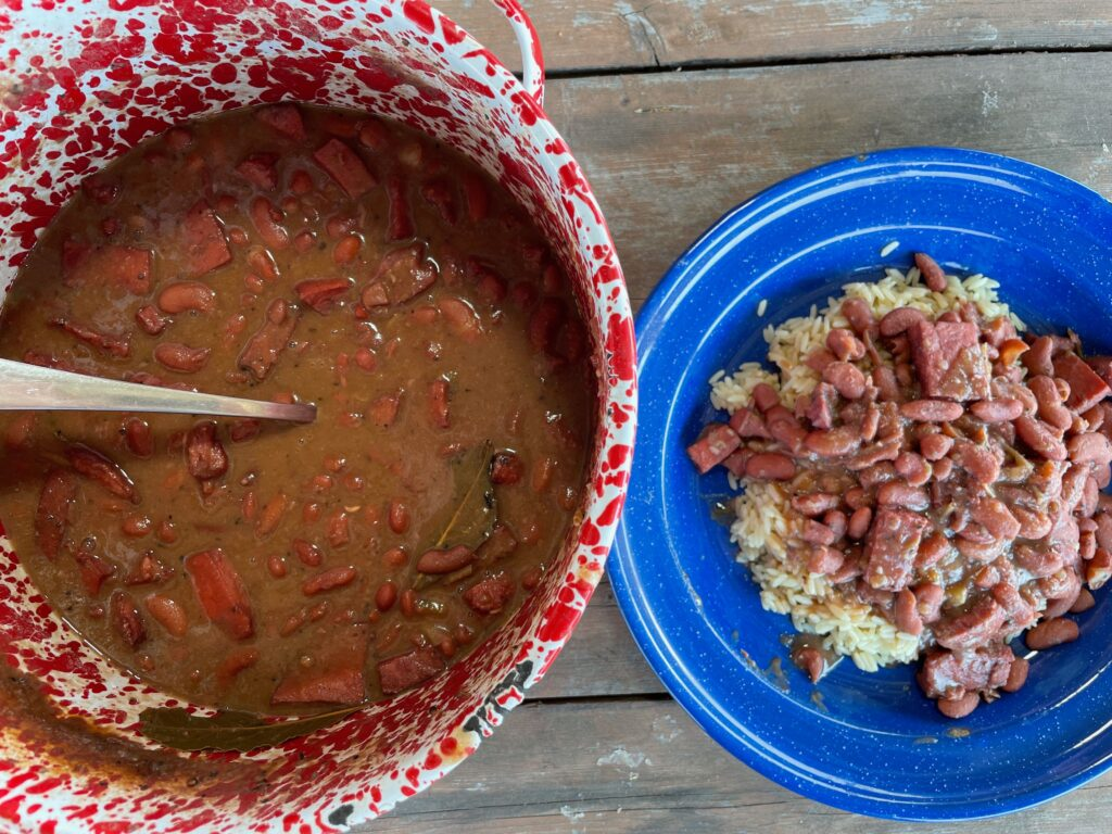 Kent Rollins Red Beans and Rice